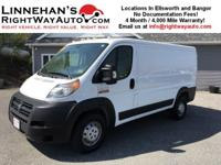 You are looking at a 2015 Ram Promaster Cargo Van. This