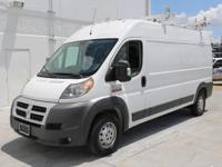2015 Ram ProMaster with Cloth Seats,Cruise