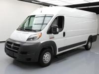 2015 Ram ProMaster with 3.0L EcoDiesel I4 Engine,Cloth