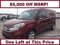 ProMaster City SLT and Deep Red Metallic. This vehicle