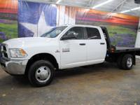 *Purchase this rugged white 2015 Ram 3500 SLT 4x4 Heavy