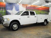 *Purchase this rugged white 2015 Ram 3500 Tradesman