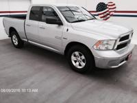 Take command of the road in the 2015 Ram 1500! Roomy,