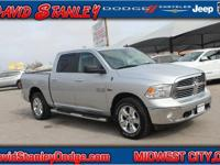 CARFAX One-Owner. Clean CARFAX. Silver 2015 Ram 1500