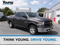 2015 Dodge Ram 1500. 4WD. Low miles indicate the
