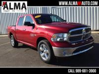 Options:  2015 Dodge Ram 1500 Big Horn|Red|1 Owner|Big