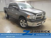 Options:  2015 Ram 1500 4Wd Crew Cab 140.5 Big
