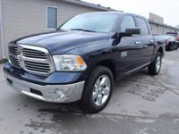1500 Big Horn, 4D Crew Cab, 3.6L V6 24V VVT, 8-Speed