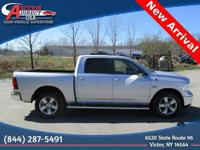 One Owner | Accident Free | 2015 RAM 1500 Big Horn Crew