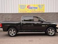 2015 Ram 1500 Big Horn  in Brilliant Black Crystal