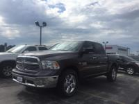 2015 Ram 1500 SLT Big Horn in Gray with Diesel
