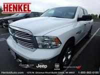 Options:  2015 Ram 1500 Big Horn Crew 4X4|Bright White