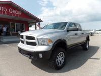 Options:  2015 Ram 1500 Rough Country Lift! Aftermarket