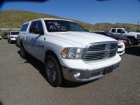 White Beauty! Diesel! Creampuff! This charming 2015 Ram