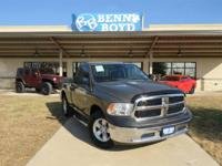 This New 2015RAM1500Tradesman/Express is well Equipped