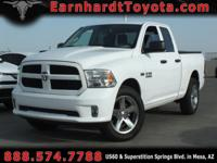 We are thrilled to offer you this 1-OWNER 2015 RAM 1500