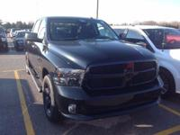 Black Clearcoat 2015 Ram 1500 Express 4WD 8-Speed