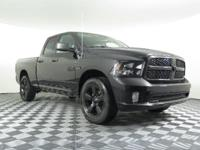Black Clearcoat 2015 Ram 1500 Express 4WD Automatic