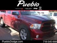 CARFAX 1 OWNER. 4D Crew Cab, ABS brakes, Electronic