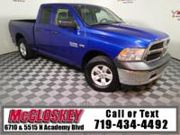 Capable and powerful 2015 Ram 1500 Express Quad Cab