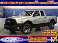 **** FRESH IN FOLKS! THIS 2015 RAM 1500 HAS JUST