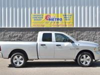 CARFAX One-Owner. Silver 2015 Ram 1500 Express Quad Cab