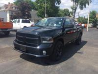 This 2015 Ram 1500 Express in Black Clearcoat features: