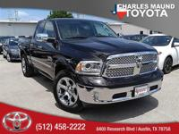 Leather Interior. 1500 Laramie, 4D Quad Cab, 1 Year