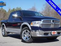 Options:  2015 Ram 1500 Laramie|Blue|Priced Below Kbb
