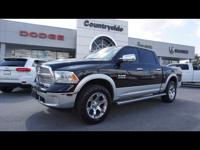 Treat yourself to this 2015 RAM 1500 Laramie, which
