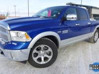 Options:  2015 Ram 1500 Laramie|Blue|*One Owner* And