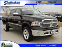 Options:  2015 Ram 1500 Laramie Limited|4X4 Laramie