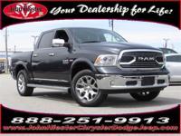 Options:  2015 Ram 1500 Laramie Longhorn|Certified
