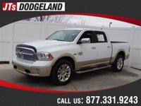 Options:  2015 Ram 1500 Laramie Longhorn|White/|V8 5.7