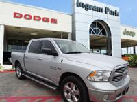 2015 Ram 1500 Lone Star. Powered by a 5.7-liter V8 with