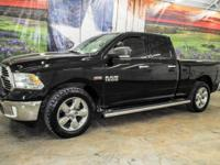 *Rule the roads in this classic black 2015 Ram 1500