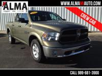 Options:  2015 Dodge Ram 1500 Outdoorsman|Beige|1 Owner