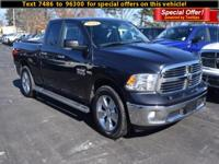 Outstanding design defines the 2015 Ram 1500! You'll