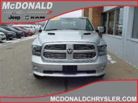 Options:  2015 Ram 1500 Sport 4X4 Crew Cab 140 In.