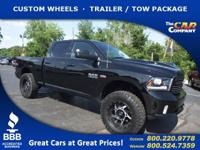 Used 2015 Ram 1500, DESIRABLE FEATURES: CUSTOM WHEELS,