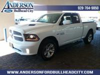 New Price! Bright White Clearcoat 2015 Ram 1500 Sport