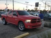 Bright Red 2015 Ram 1500 Tradesman RWD Automatic HEMI