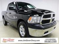 Drive home this 2015 Ram 1500 Tradesman in Black Forest