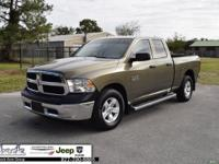 Green 2015 Ram 1500 Tradesman RWD 8-Speed Automatic