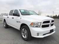 Ram 1500 Express, 4WD, Bright White Clearcoat, ABS
