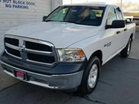 Very Nice, CARFAX 1-Owner. Tradesman trim, Bright White