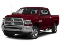 Recent Arrival! Red 2015 Ram 2500 Laramie 4WD Cummins