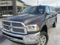 Options:  2015 Ram 2500 Laramie|Gray|3.73 Rear Axle