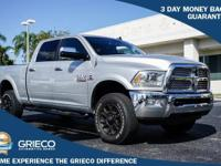 Recent Arrival! 2015 Ram 2500 Laramie Silver Priced