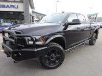 Options:  2015 Ram 2500 Laramie|Black|Priced Below Kbb